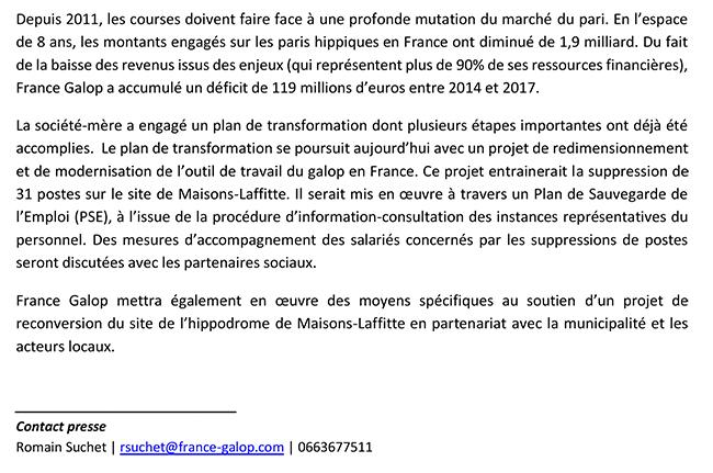 France Galop Calendrier 2020.France Galop Annonce La Fermeture De L Hippodrome Maisons